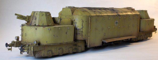 Panzertriebwagen 16 skala 0