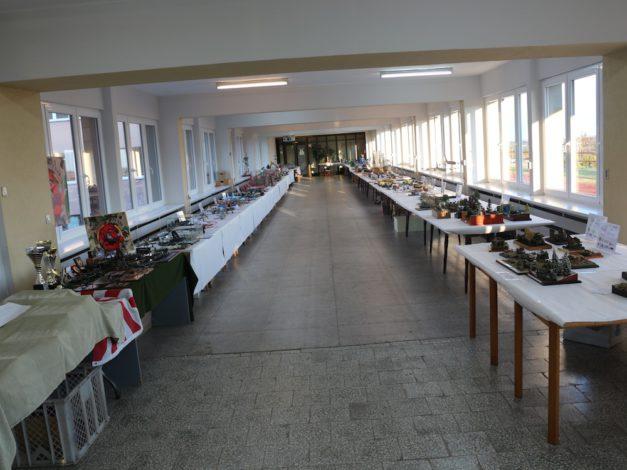 Druga sala wystawowa w niedzielę rano