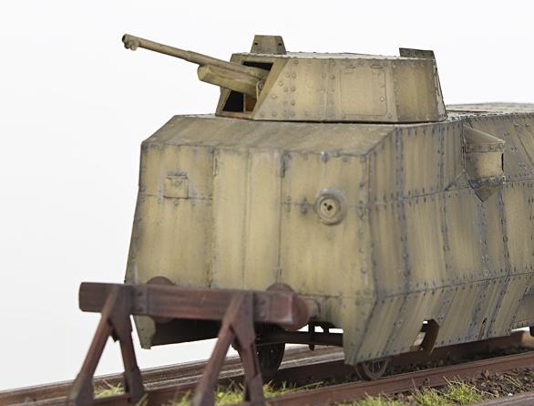 Polski pancerny wagon motorowy wz. 28 – galeria modelu