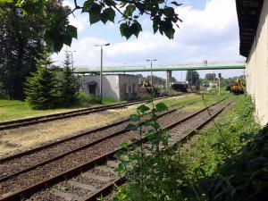 Na tyłach stacji