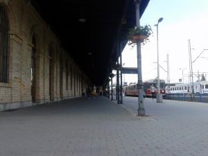Zadaszenie peronu